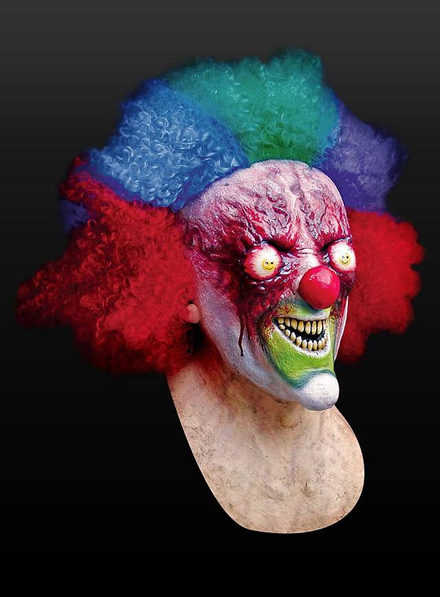 Crazy Clown Mask Maskworld Com