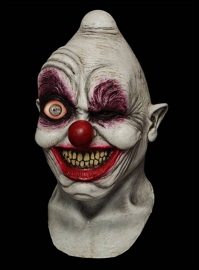 Crazy Clown Smartphone Mask Maskworld Com