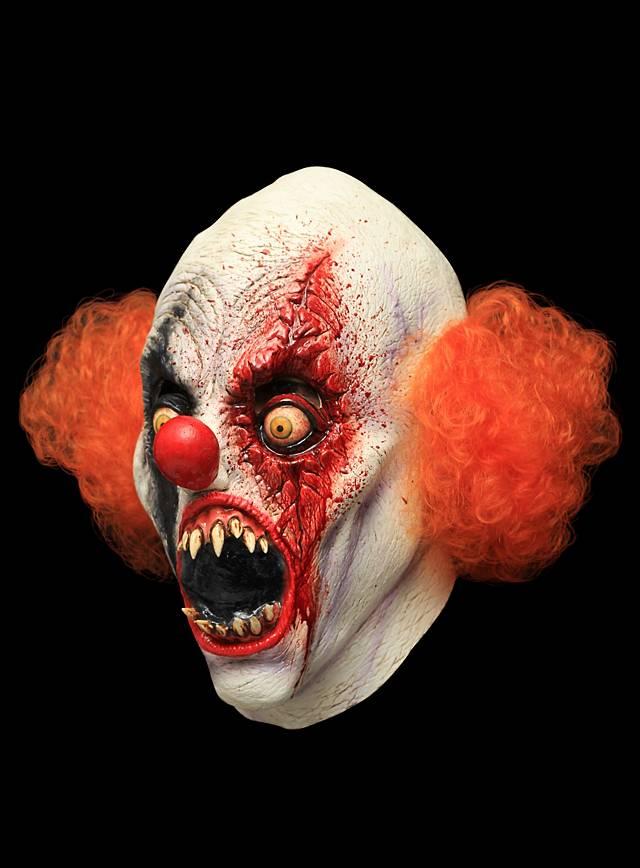 creepy clown maske. Black Bedroom Furniture Sets. Home Design Ideas