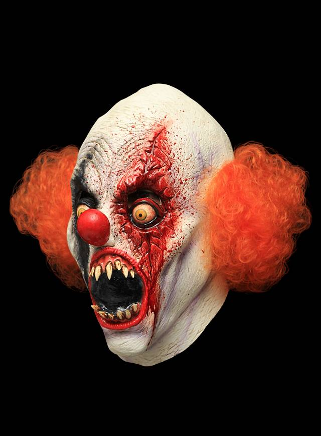Creepy Clown Maske