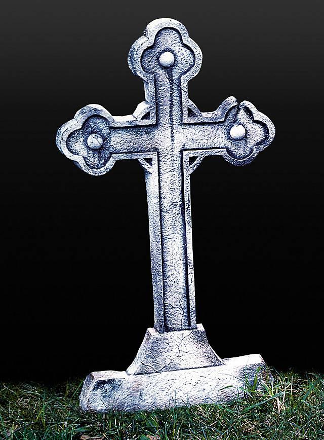 Croix tombale classique