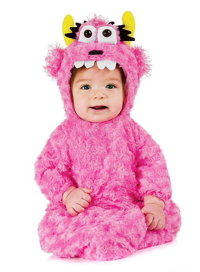 Cuddle Monster Baby Bag Baby Costume pink