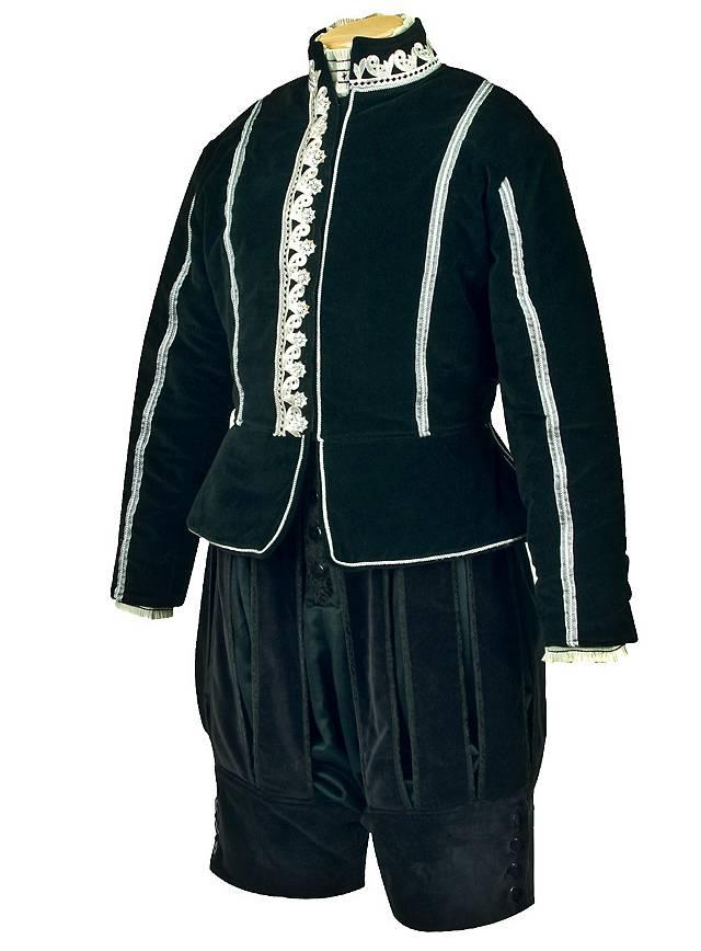 Culotte en velours «roi Henri VIII»