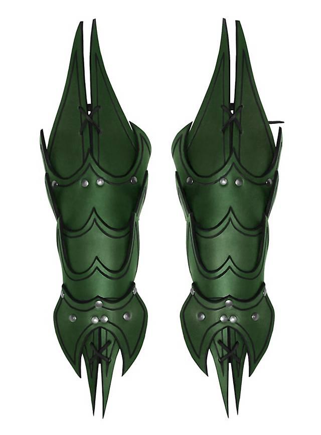 Dämonen Armschienen grün
