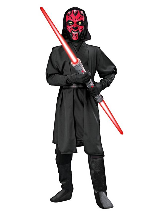 original star wars darth maul kost m f r kinder kinderkost m clone wars ebay. Black Bedroom Furniture Sets. Home Design Ideas