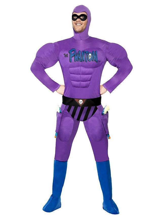 Das Phantom Muskelanzug Kostüm