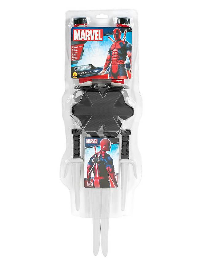 Deadpool Waffen-Set