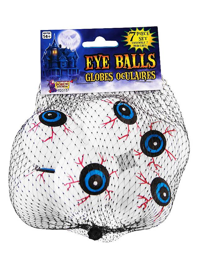 Décoration d'Halloween yeux effrayants