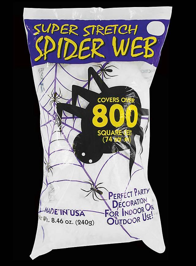 D coration toile d 39 araign e 240 g for Toile d araignee decoration