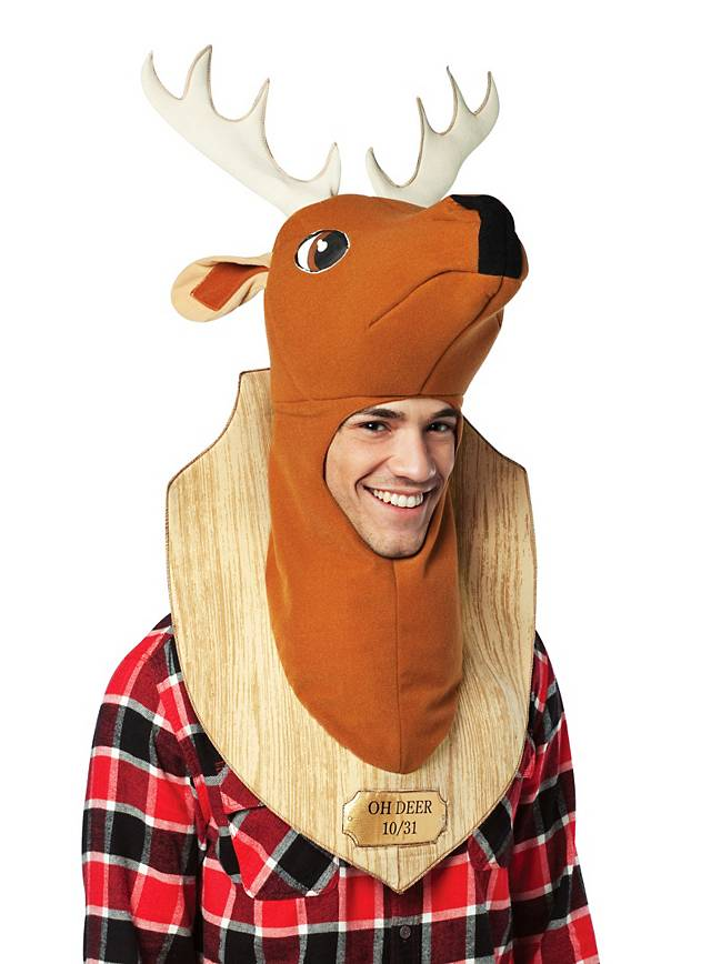 Deer Wall Trophy Costume