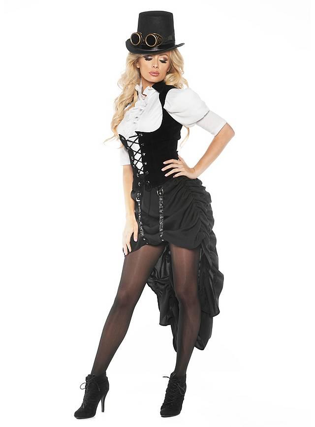 Déguisement de danseuse de saloon steampunk