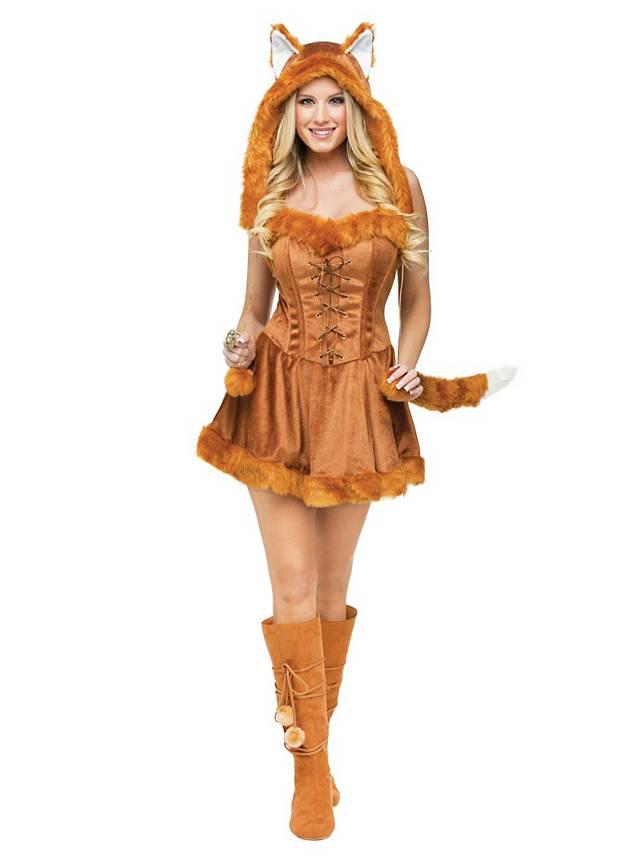 Déguisement de renard sexy Foxy Lady