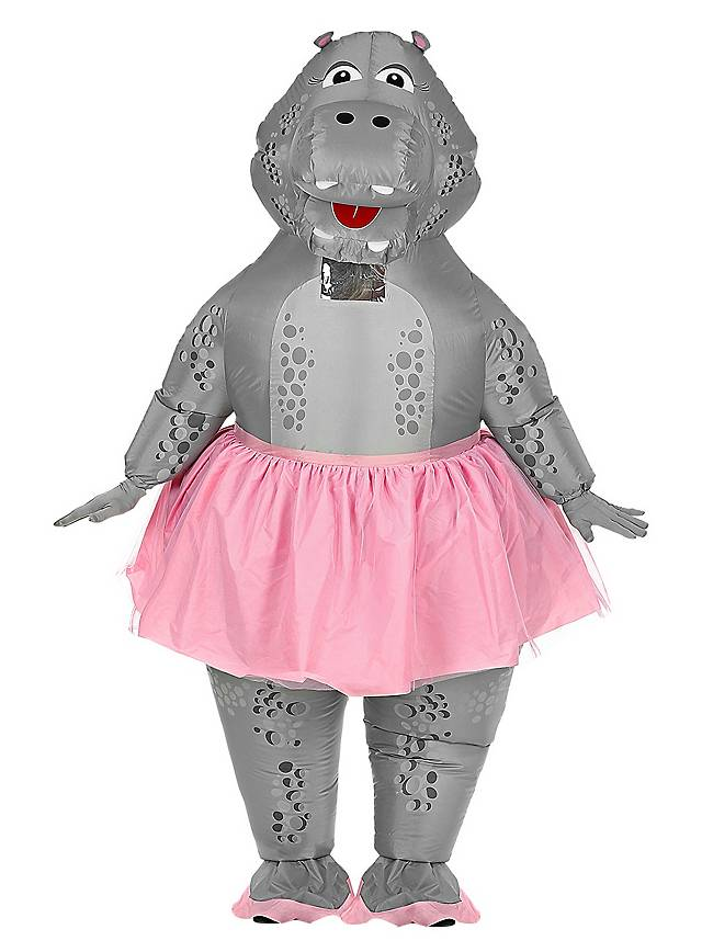 Déguisement d'hippopotame danseuse