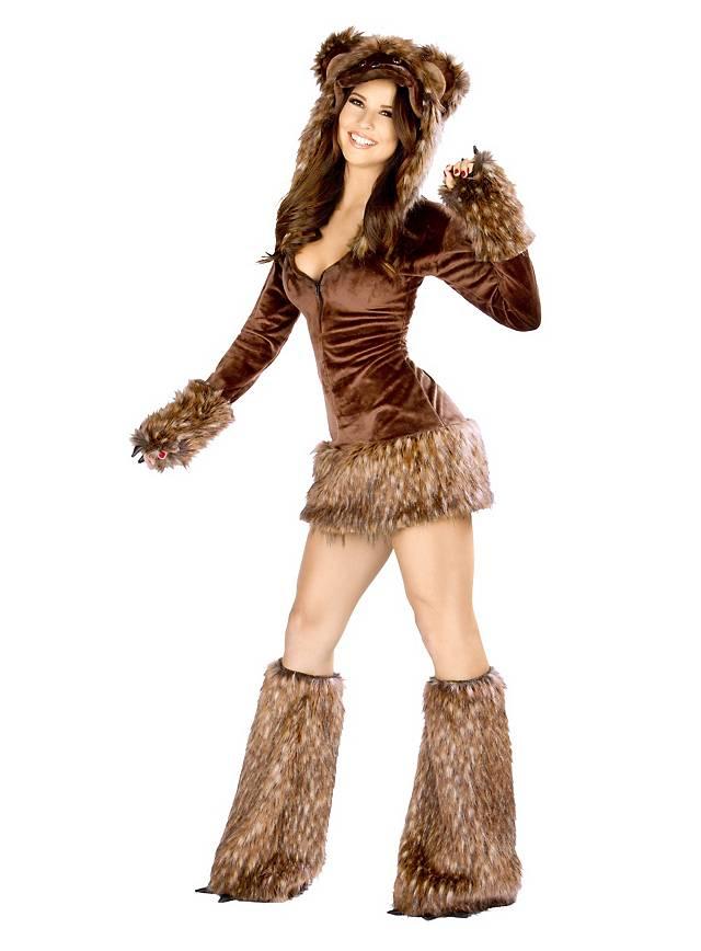 deguisement femme ours