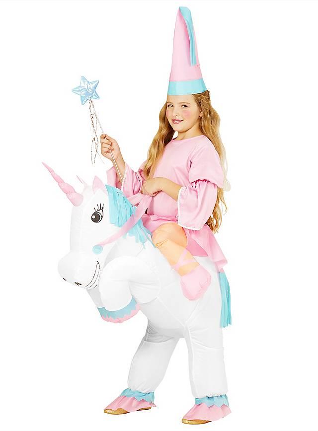 D guisement licorne gonflable pour enfant - Image de licorne ...