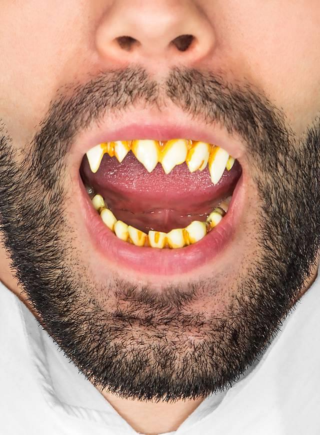 Horror-Zähne für Pennywise