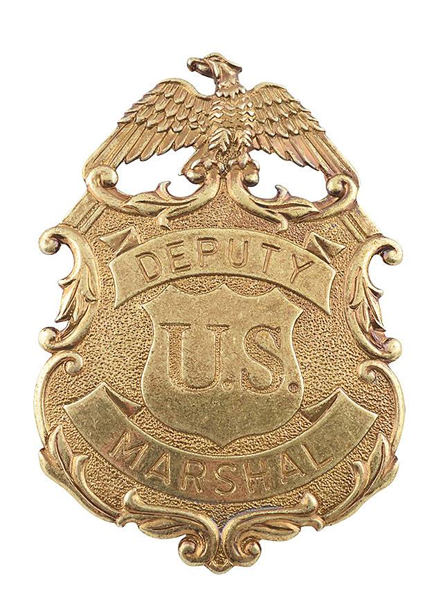 Deputy Marshal Badge