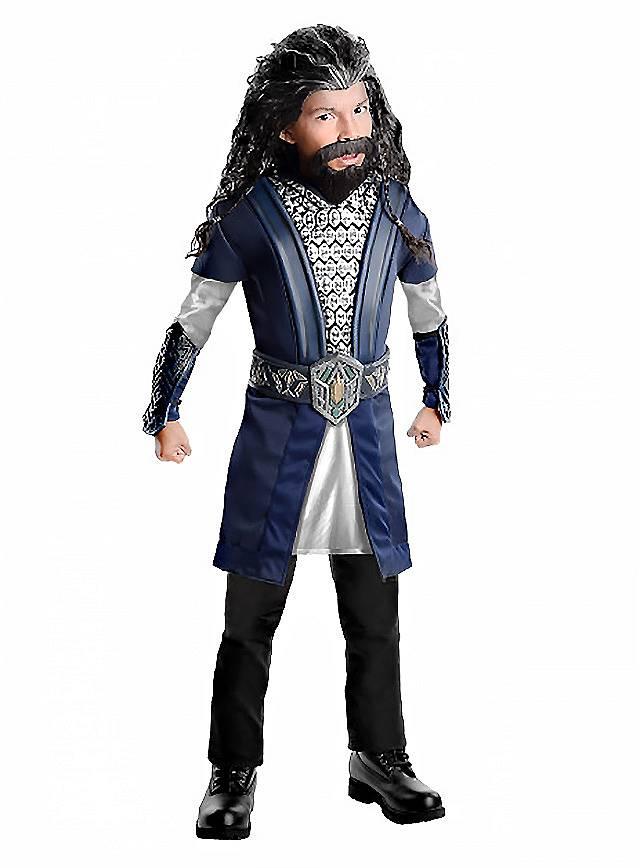 Der Hobbit Thorin Eichenschild Kinderkostüm