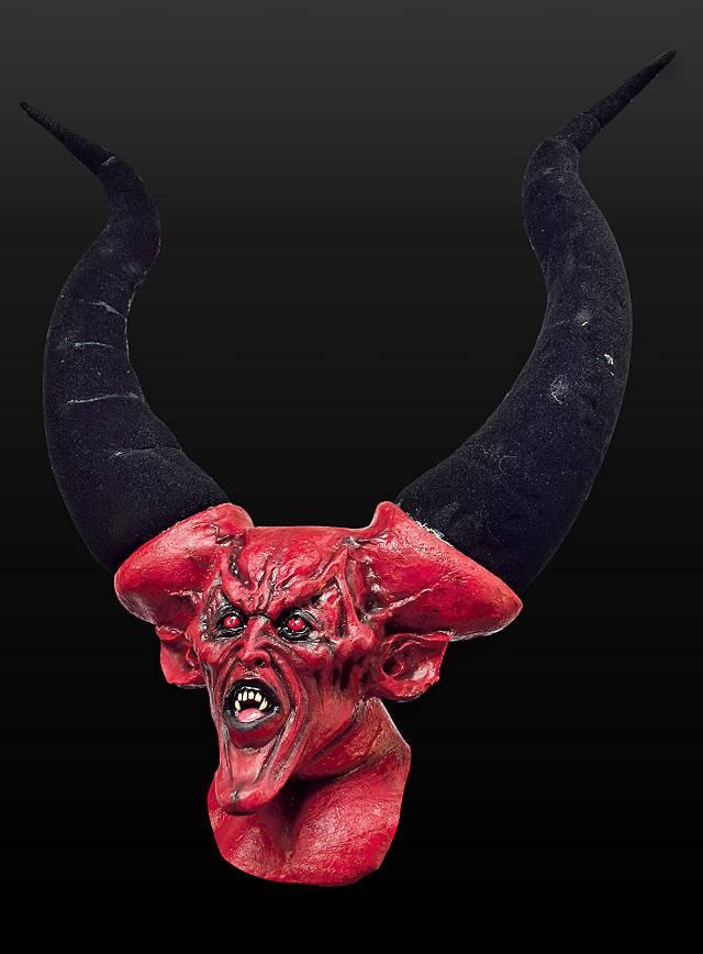 Der Leibhaftige Maske aus Latex