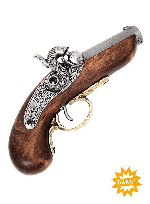 Derringer Pocket Pistol Replica Weapon