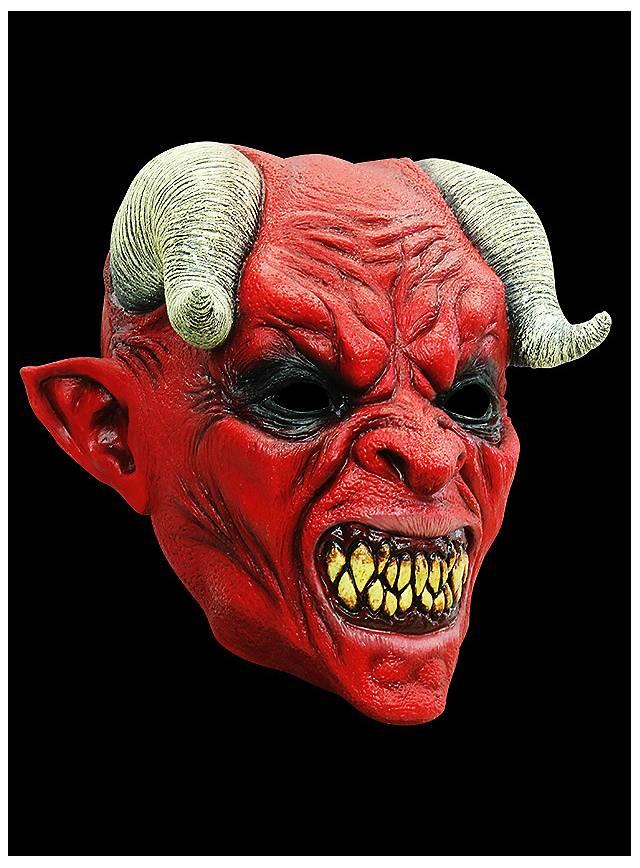 Devil Horror Mask made of latex
