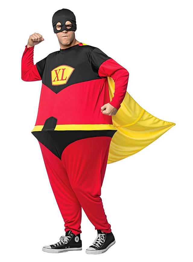 Dicker Superheld Kostüm