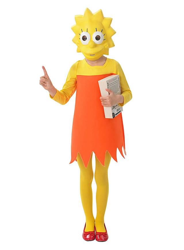 Die Simpsons Lisa Simpson Kinderkostüm