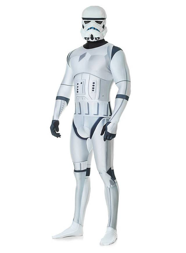 Digital morph suit Star Wars Stormtrooper full-body costume