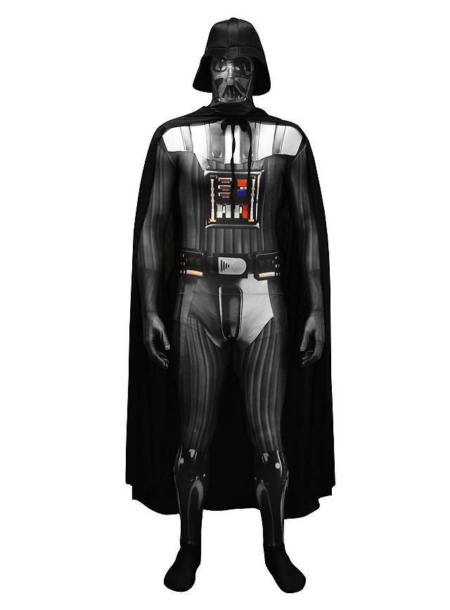 digital morphsuit darth vader full body costume. Black Bedroom Furniture Sets. Home Design Ideas