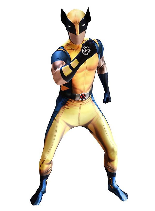 Digital Morphsuit Wolverine Ganzkörperkostüm