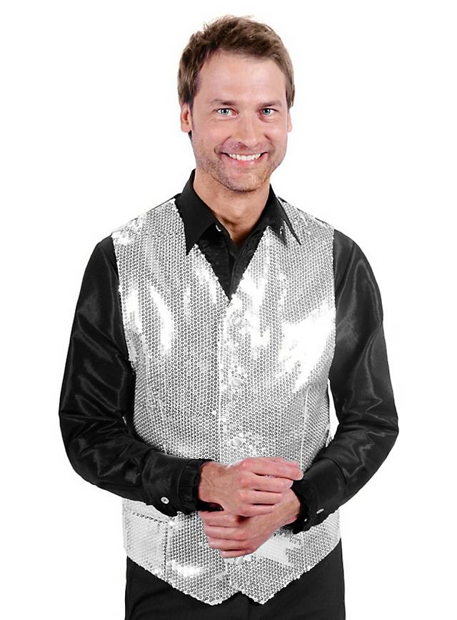 Disco Vest silver