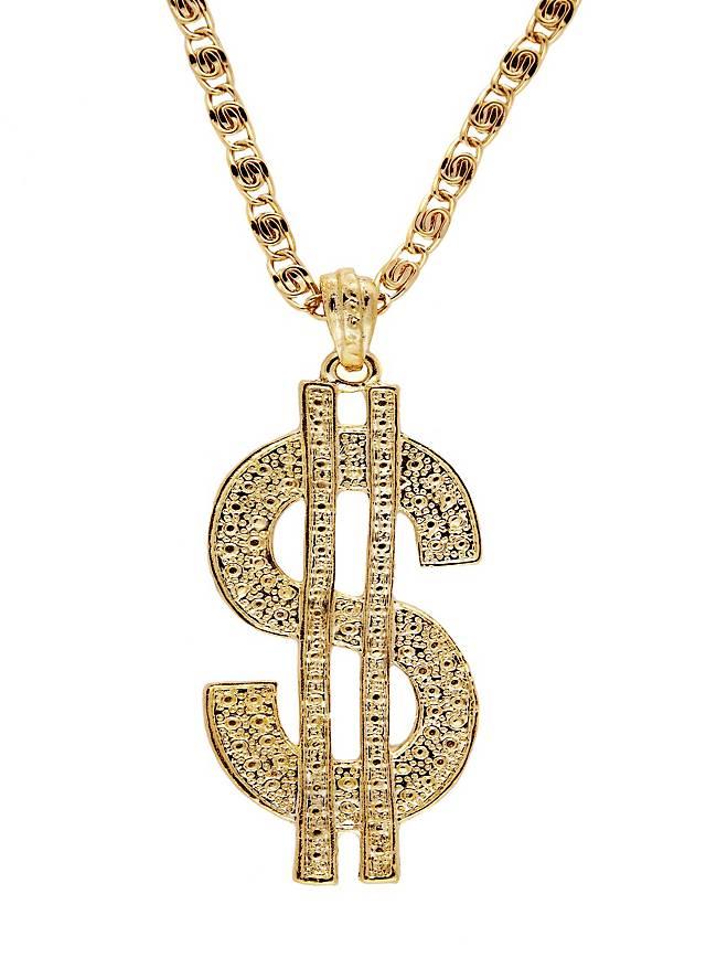 Dollarzeichen Medaillon