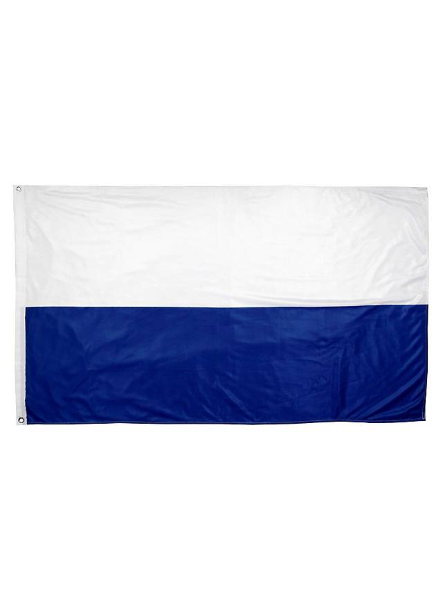 Drapeau bavarois rayé blanc et bleu