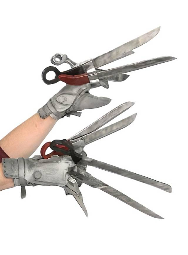 Edward mit den Scherenhänden Handschuh Set  Edward mit den ...
