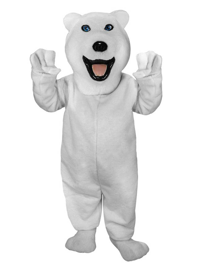 Eisbär Maskottchen