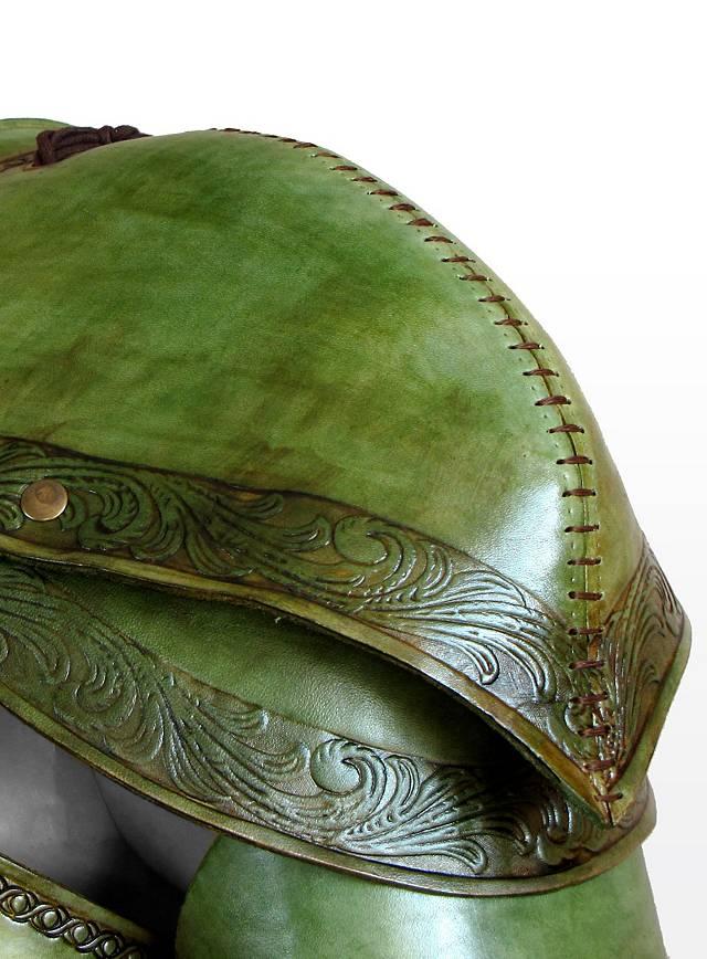 Elf Leather Armor Leaf Green