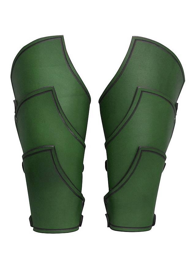 Elfenkrieger Armschienen grün