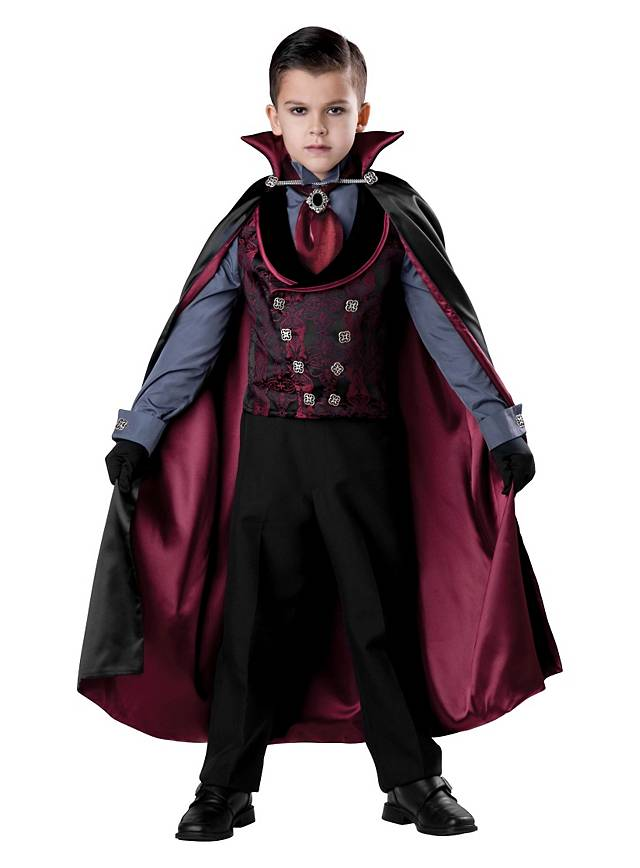 Elite Vampire Kids Costume Maskworld Com