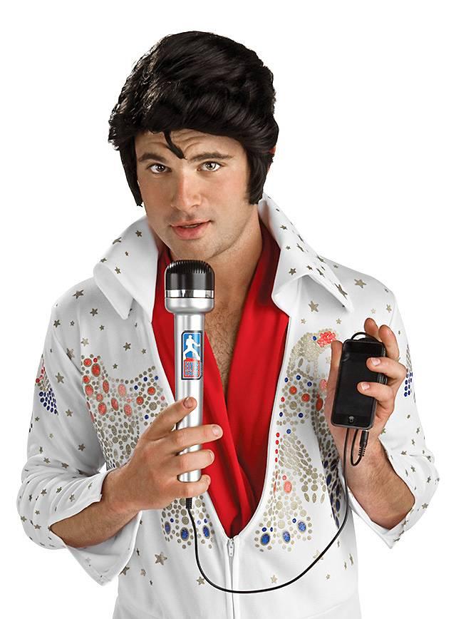 Elvis Mikrofon MP3-Lautsprecher