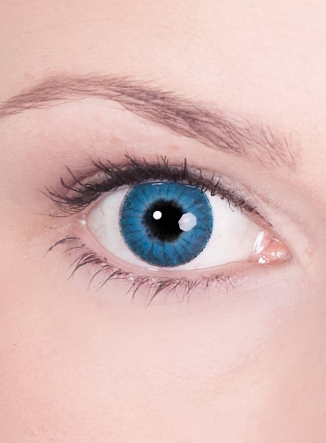 Blaue Kontaktlinsen  Motiv Engel
