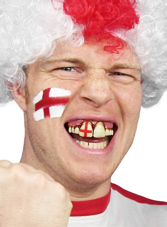 England Fan Teeth