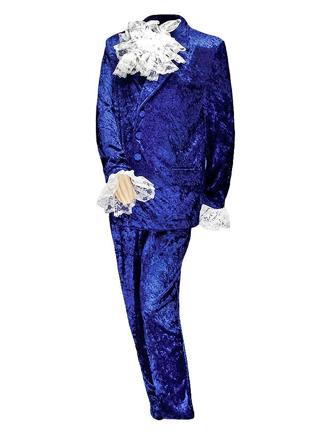 Englischer Geheimagent Anzug blau