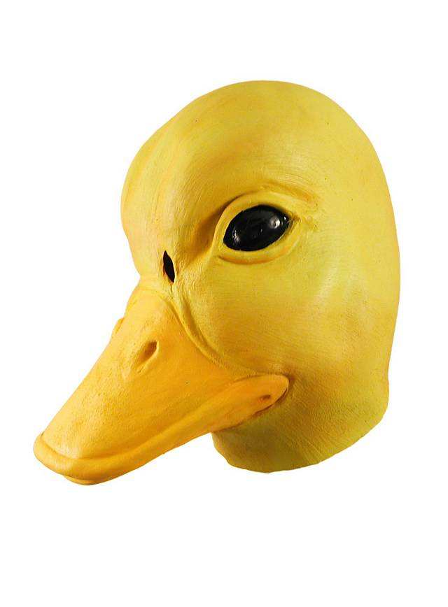 Ente Maske aus Latex
