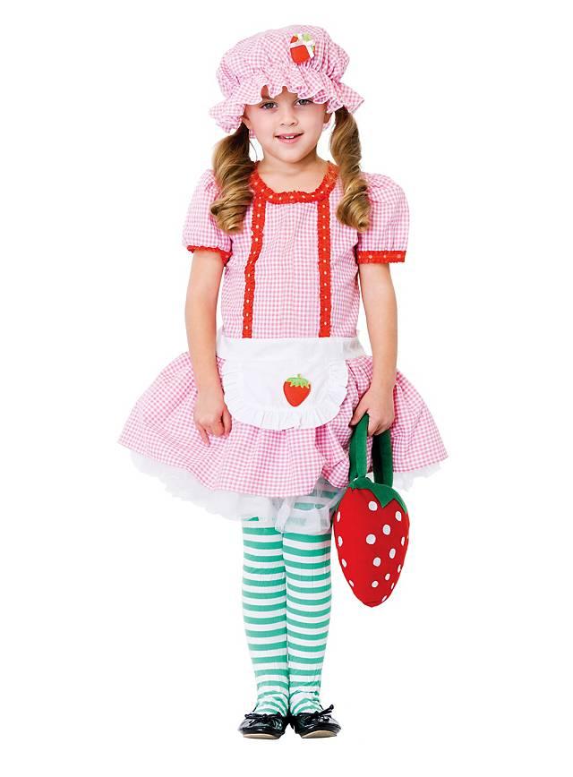 Erdbeere Kinderkostüm
