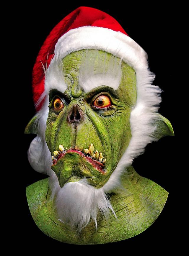 Evil Christmas.Evil Christmas Elf Mask