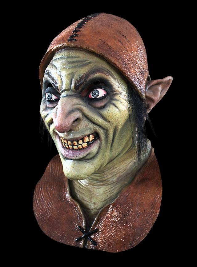Nasty Halloween Costumes: Evil Goblin Latex Full Mask