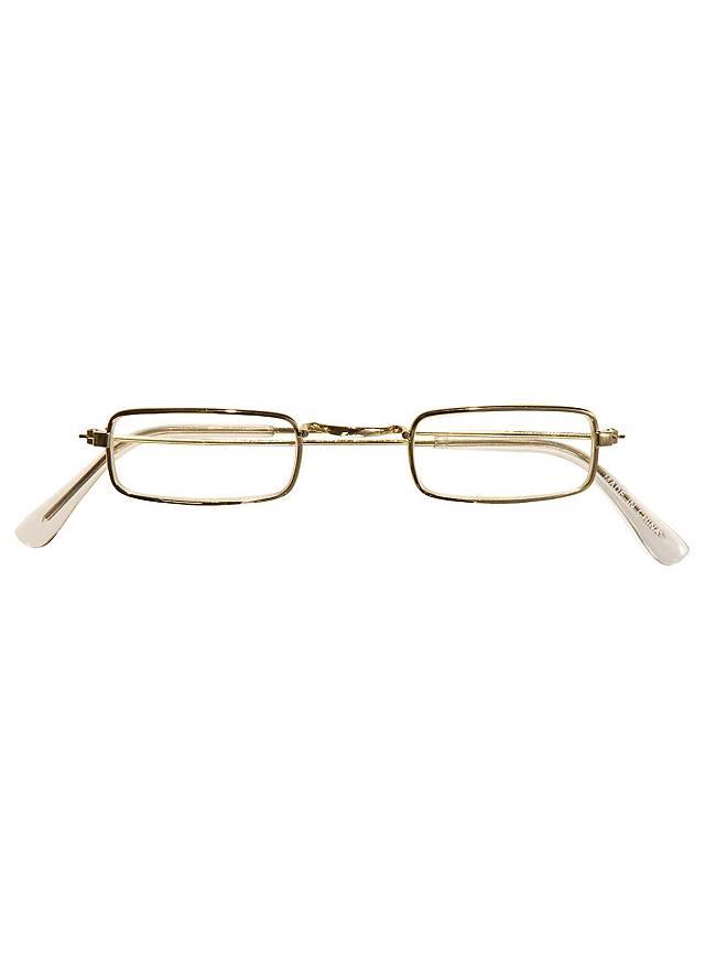 Fake Brille gold