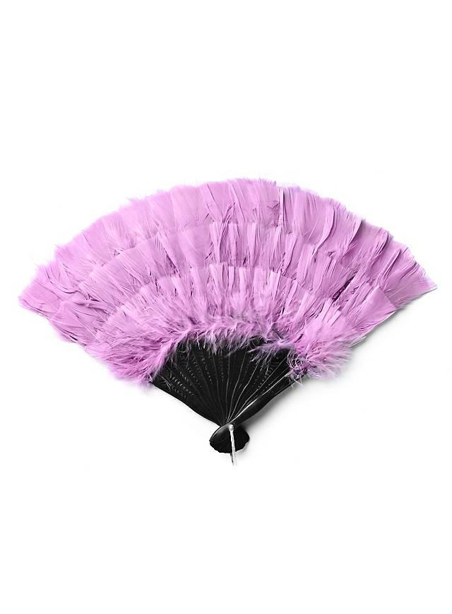 Federfächer pink