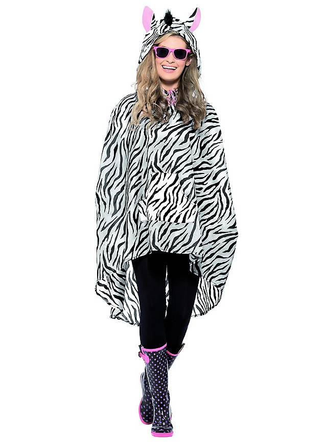 Festival Poncho Zebra