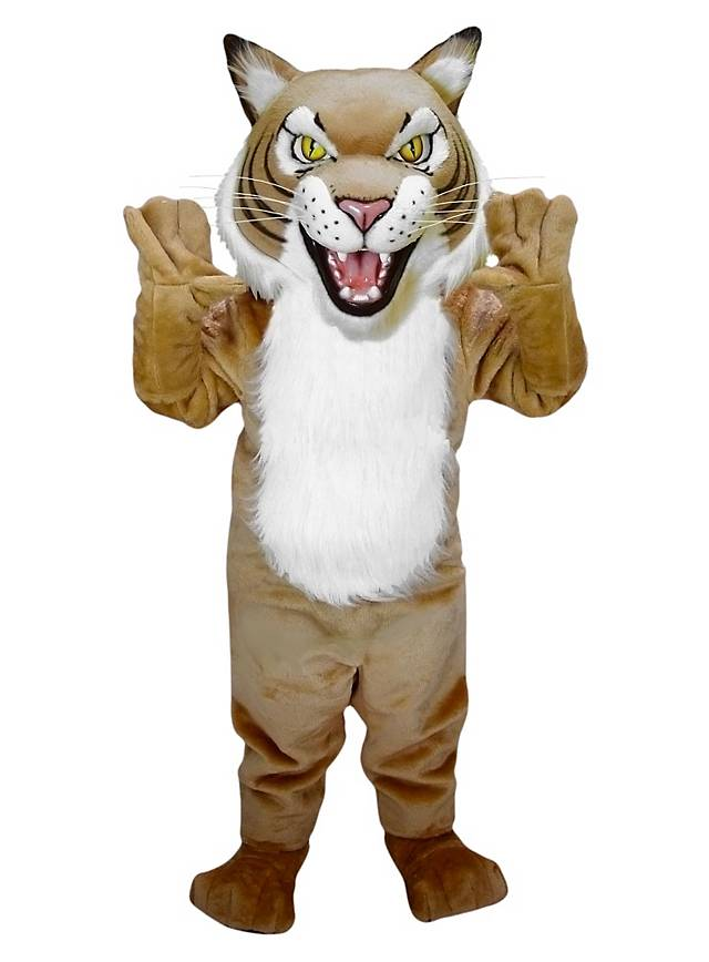 Fierce Wildcat Mascot